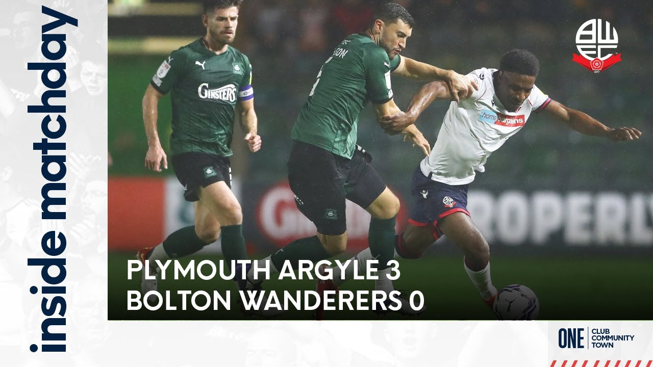 INSIDE MATCHDAY   Episode 17: Plymouth Argyle 3-0 Bolton Wanderers