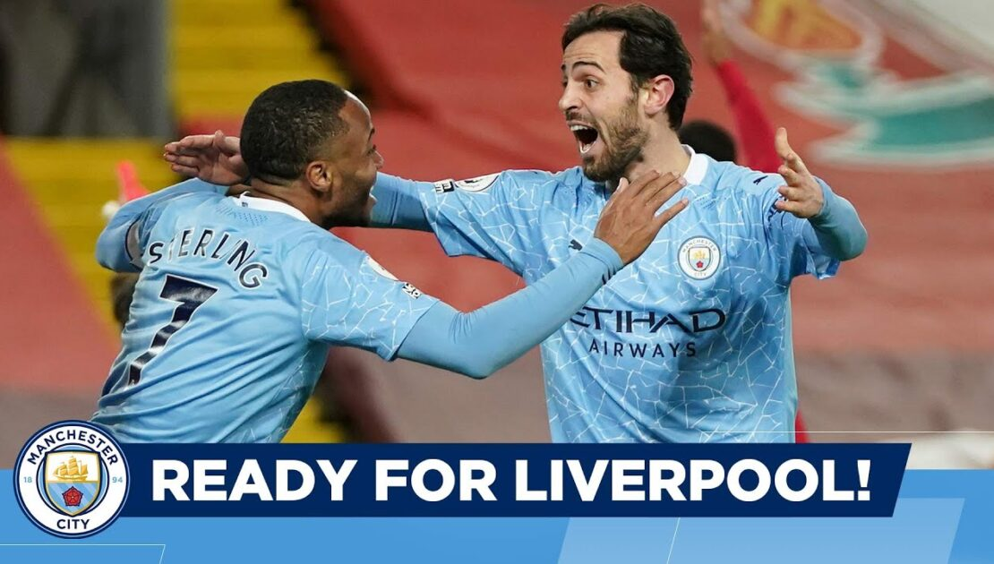 CITY FACE LIVERPOOL. EXCITED? | Man City go to Anfield in the Premier League!