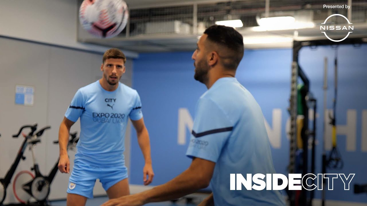 Exclusive behind the Scenes with Man City? | Team Hotel, Gym & more! | Inside City 385